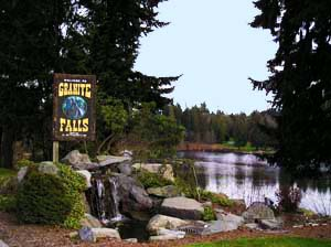 Entrance to Granite Falls